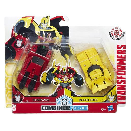 Transformers - Sideswipe e Bumblebee - Pack 2 Figuras Combiners