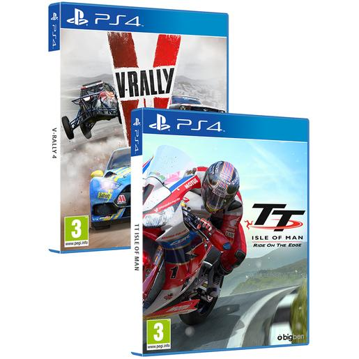 PS4 - V-Rally 4 + TT Isle Of Man