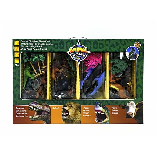Animal Zone - Playset 4 em 1 Mundo Animal