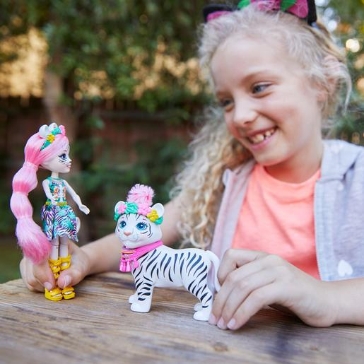 Enchantimals - Boneca Tadley Tiger com Mascote