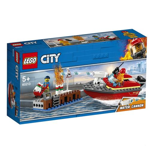 LEGO City - Chamas no Cais  - 60213