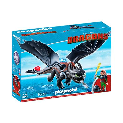 Playmobil - Hiccup y Desdentado - 9246