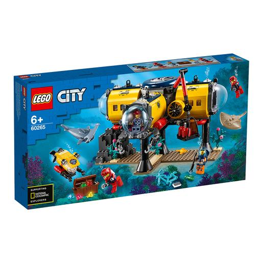 LEGO City - Base de exploração do oceano