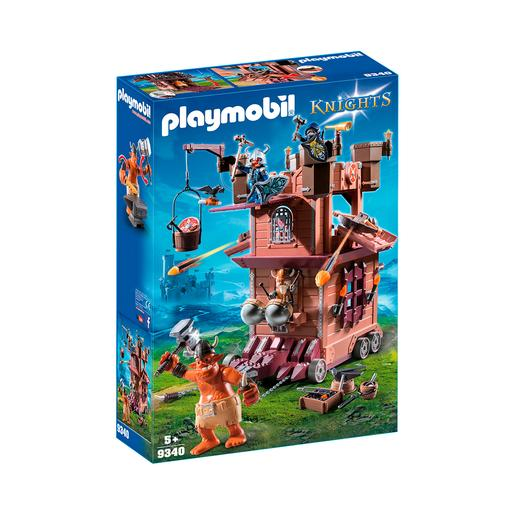 Playmobil Knights - Fortaleza Móvel dos Anões - 9340