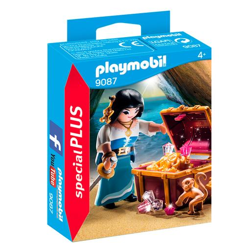 Playmobil - Pirata com Tesouro - 9087