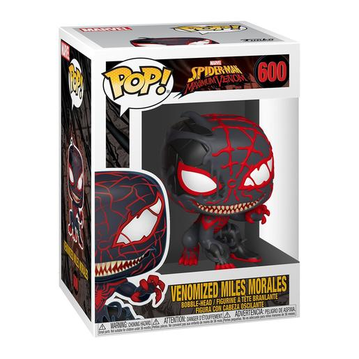 Spider-Man Maximum Venom - Venomized Milhares Morais - Figura Funko POP