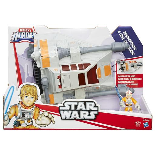 Playskool Heroes - Luke Skywalker - Heróis Galácticos Star Wars