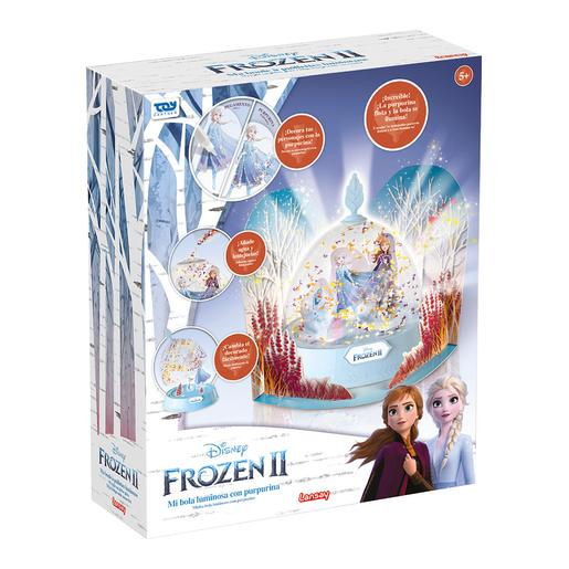 Frozen - Bola Luminosa com Purpurina Frozen 2