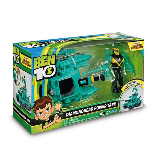 Ben 10 - Diamondhead Power Tank - Veículo com Figura