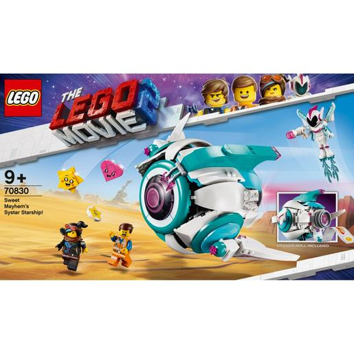 LEGO Movie - A Nave Systar de Doce Caos - 70830