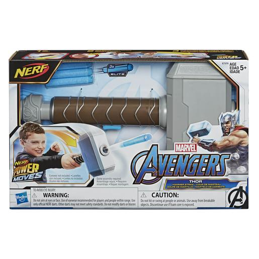 Nerf - Os Vingadores - Lançador Power Moves Thor