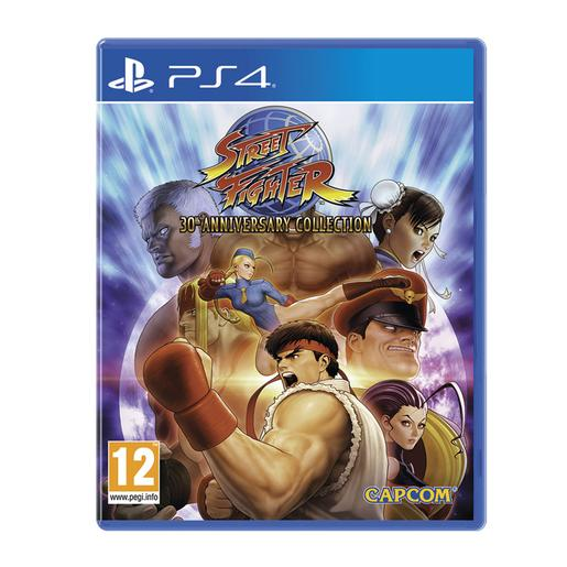 Jogo PS4 Street Fighter 30Th Anniversary Collection