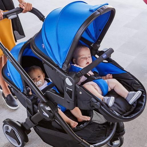 Chicco - Duo gemelar de passeio Fully Twin Power Blue