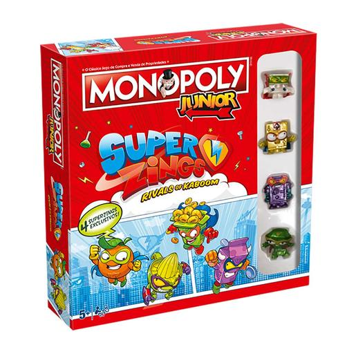 Monopoly - SuperZings Monopoly Junior