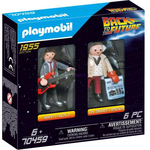 Playmobil - Back to the Future Marty Mcfly e Dr. Emmett Brown (70459)