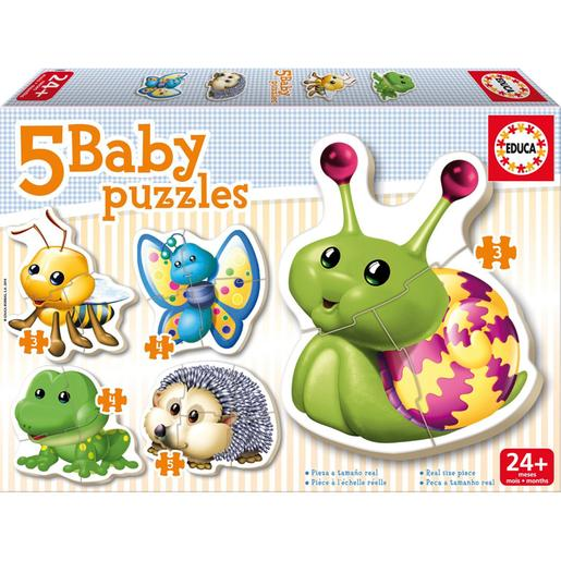 Educa Borrás - Animais do Bosque - Baby Puzzle