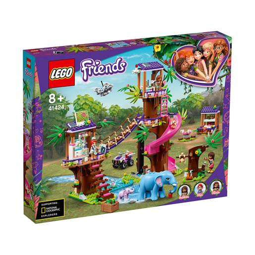LEGO Friends - Base de resgate da selva