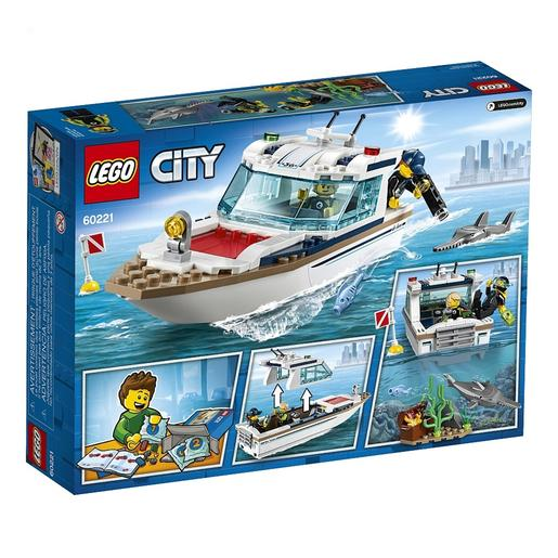 LEGO City - Iate de Mergulho - 60221