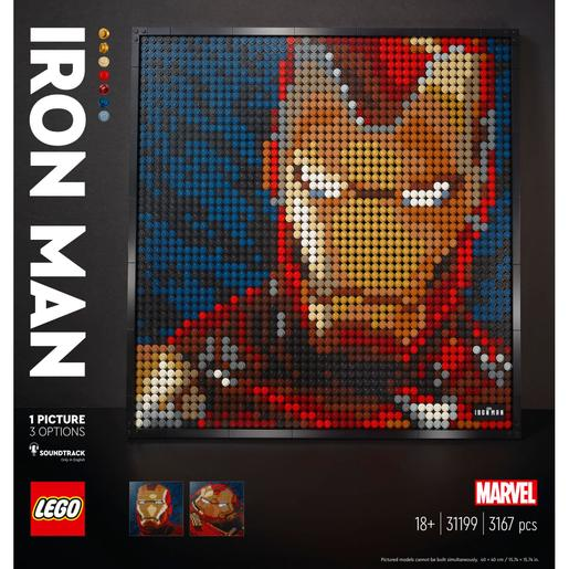LEGO Art - Marvel Studios Iron Man - 31199