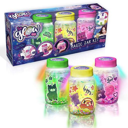 So Glow - Pack 3 Magic Jar (várias cores)