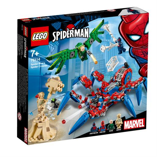LEGO Super-heróis - O Spider Crawler do Spider-Man - 76114