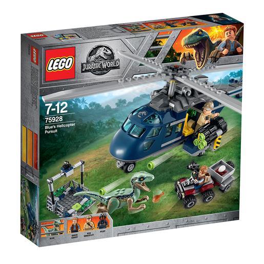 LEGO Jurassic World A Perseguição de Helicóptero de Blue