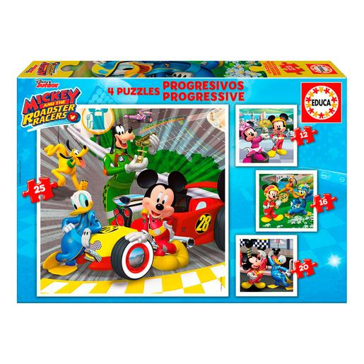 Educa Borras - Mickey e os Superpilotos - Puzzle Progressivo