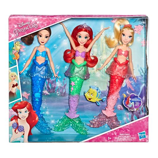 Princesas Disney - Pack Ariel e as Irmãs