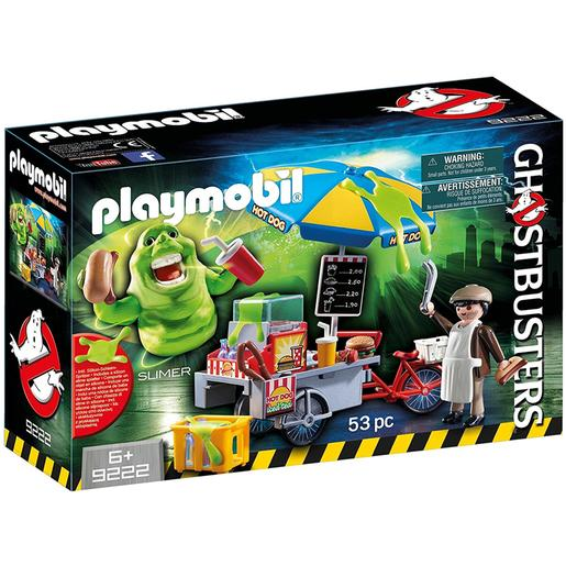 Playmobil - Ghostbusters Slimer Stand Hot Dog - 9222