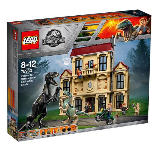 LEGO Jurassic World - Caos do Indorraptor na Mansão Lockwood - 75930