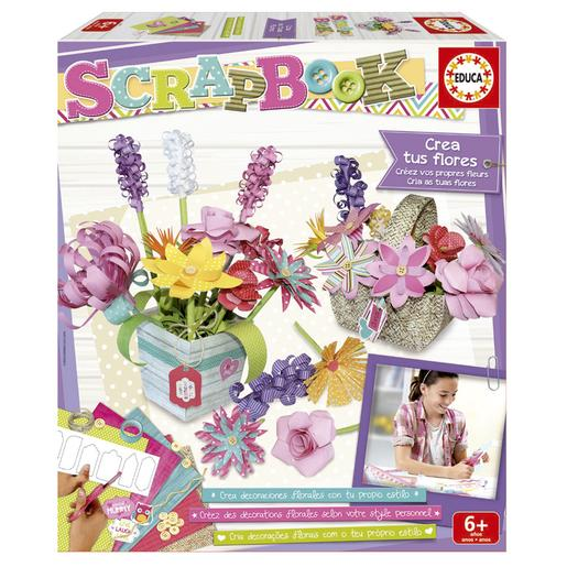 Scrapbook - Cria as tuas Flores