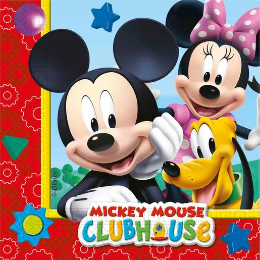 Mickey Mouse - Pack 20 Guardanapos