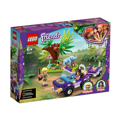 LEGO Friends - O resgate na selva do elefante bebé