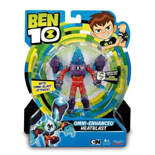 Ben 10 - Omni Enhanced Heatblast - Figura Básica