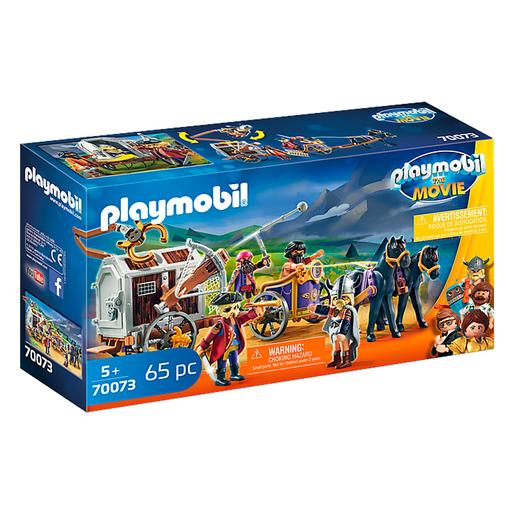 Playmobil - Charlie com Carro Prisão Playmobil The Movie - 70073