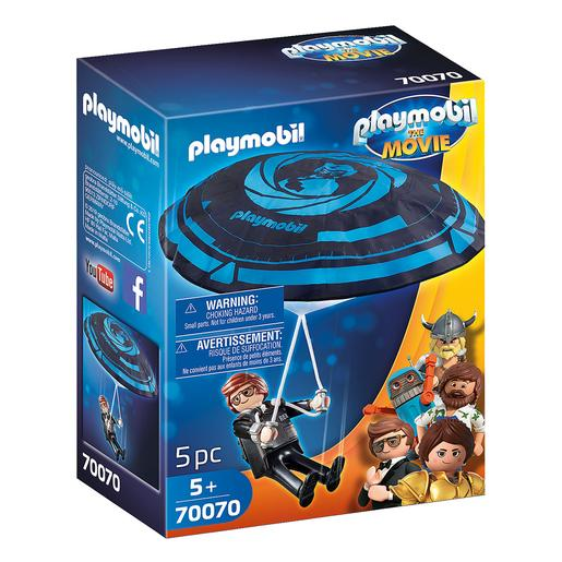 Playmobil - Rex Dasher com Paraquedas Playmobil The Movie - 70070