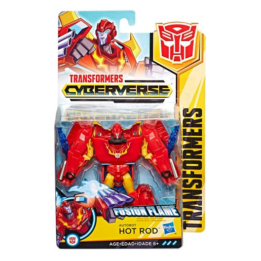 Transformers - Hot Rod - Figura Transformers Cyberverse