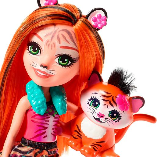 Enchantimals - Tanzie Tiger - Boneca e Mascote