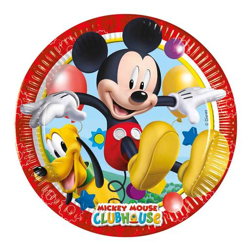 Mickey Mouse - Pack 8 Pratos