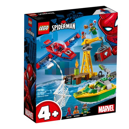 LEGO - Spider-Man: O Assalto aos Diamantes de Doc Ock - 76134