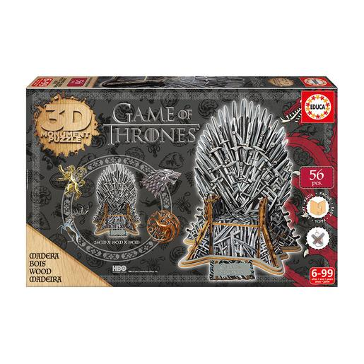 Educa Borrás - Game of Thrones - Puzzle Monument 3D
