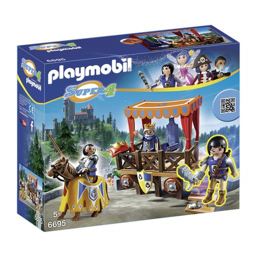Playmobil - Tribuno Real com Alex - 6695