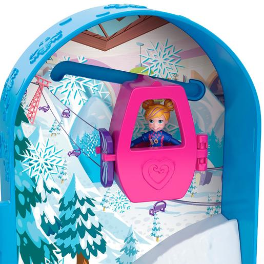 Polly Pocket - Cofre Refúgio de Neve