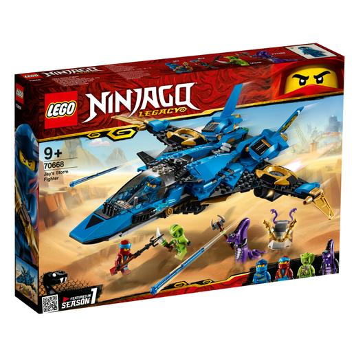 LEGO Ninjago - O Storm Fighter do Jay - 70668