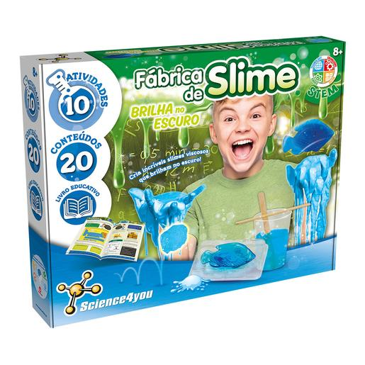 Science4you - Fábrica de Slime Brilla en la Oscuridad