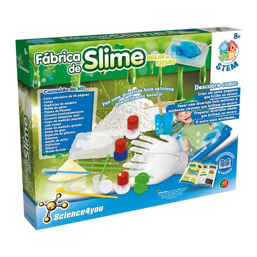 Science4you - Fábrica de Slime Brilha no Escuro