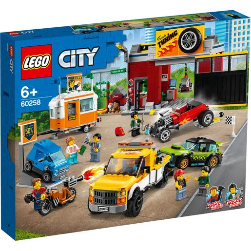 LEGO City - Oficina de Tuning - 60258