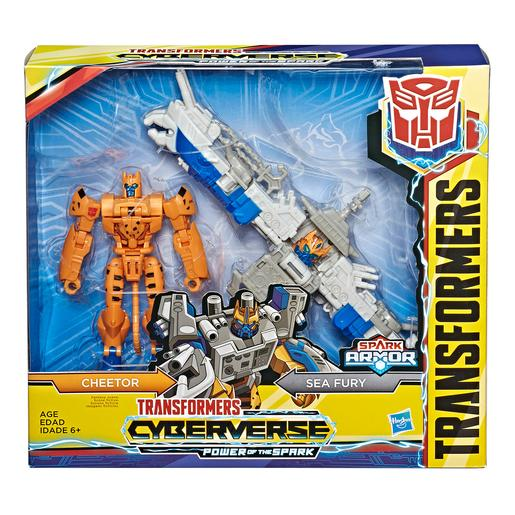 Transformers - Cheetor - Spark Armor Transformers Cyberverse
