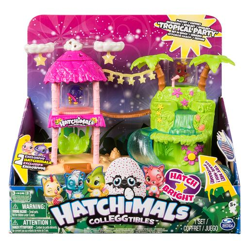 Hatchimals - Playset Ilha Luminosa