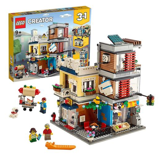 LEGO Creator - Townhouse Pet Shop & Café - 31097